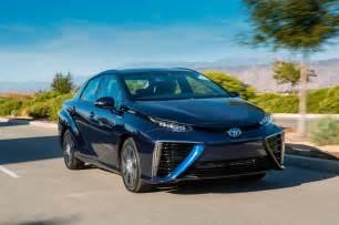 Toyota Mirai Price 2017 Toyota Mirai Reviews And Rating Motor Trend