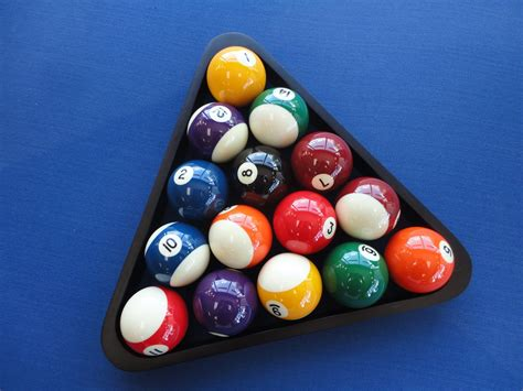 8 ball pool scratched billiards rack