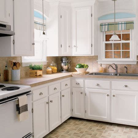 Budget Kitchen Cabinet | budget kitchen redo a charming kitchen rev for 1 527