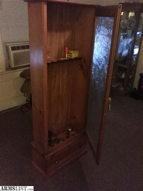 gun cabinets for sale cheap armslist for sale trade solid wood locking gun cabinet