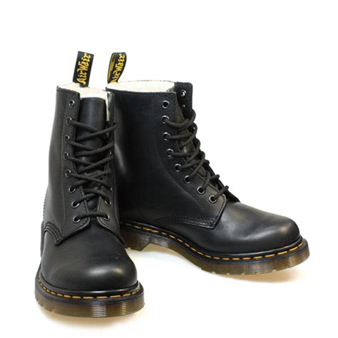 docs boots dr martens serena womens docs black leather ankle boots