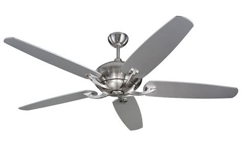 contemporary ceiling fans without lights remote ceiling fans without lights 52 inch nickel