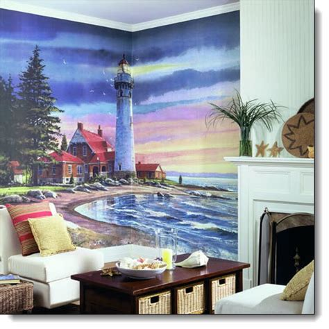 lighthouse wall mural northern lighthouse wall mural