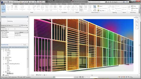 revit curtain wall tutorial bim revit advanced tutorial 01 louver curtain wall youtube