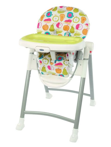graco contempo folding high chair high chairs walkers graco contempo high chair fruit