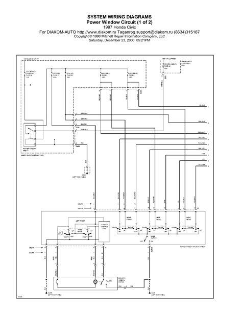 93 integra ignition diagram 93 free engine image for