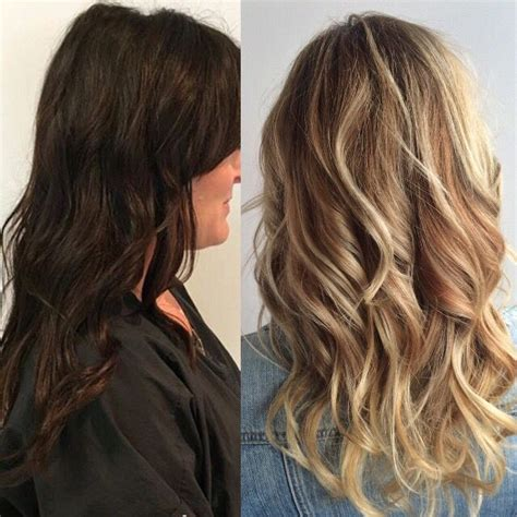 should wash hair before bayalage dark to light hair before and after blonde hair balayage