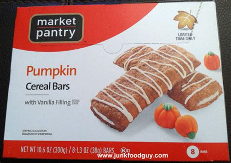 Market Pantry Cereal by Review Market Pantry Pumpkin Cereal Bars Limited Time Only Target The Junk Food Gal Has
