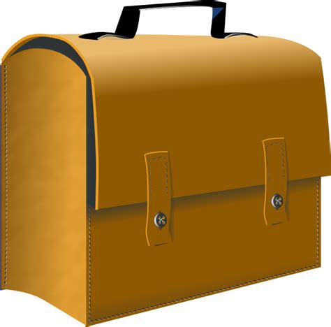 suitcase clipart leather business suitcase clip at clker vector