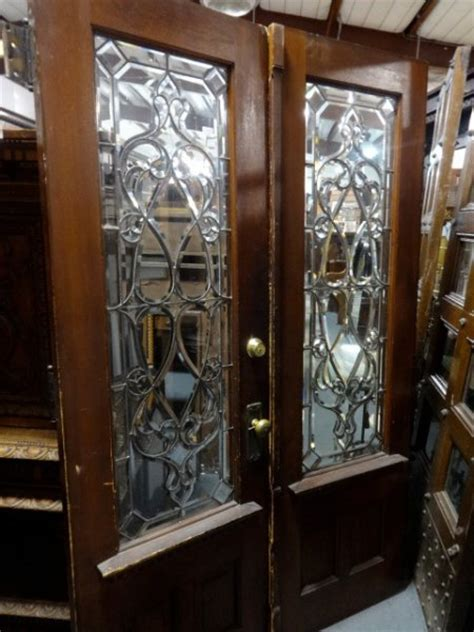 Antique Doors Furniture For Sale In Pennsylvania Oley Antique Stained Glass Doors For Sale