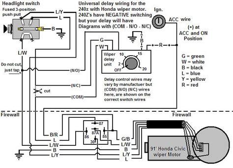 honda wiper switch wiring diagram wiring diagram with