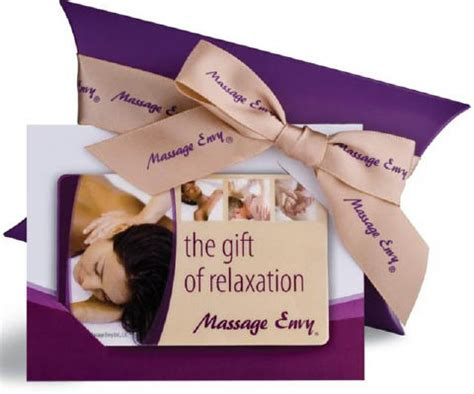 Gift Card Massage Envy - gift cards available