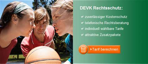 Kfz Versicherung Vergleich Devk by Rechtsschutz Devk Kfz Versicherung