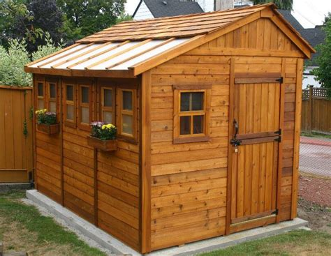 garden shed kits insteading