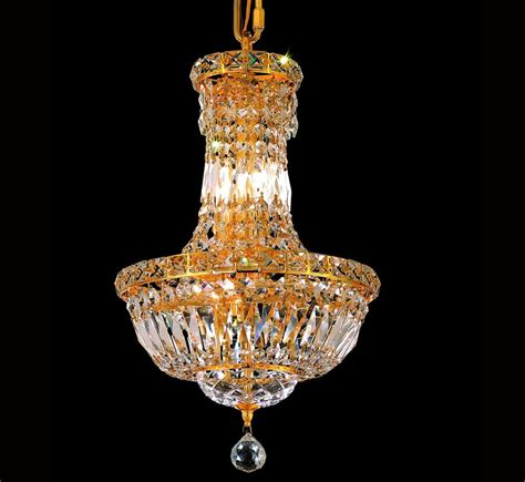 Chandelier Small Tranquil Collection 6 Light Small Chandelier Grand Light