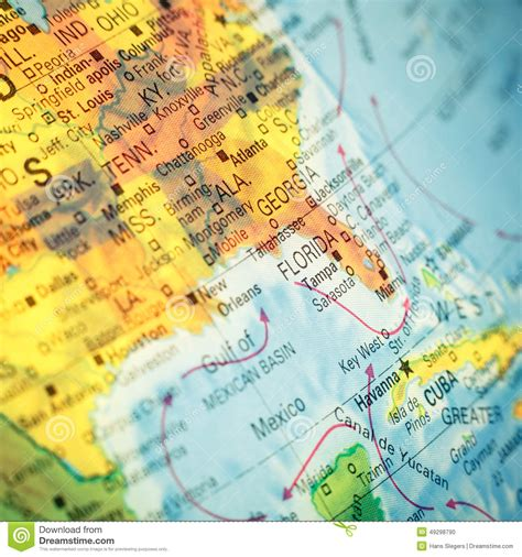 america map up map southeast usa up image stock photo image