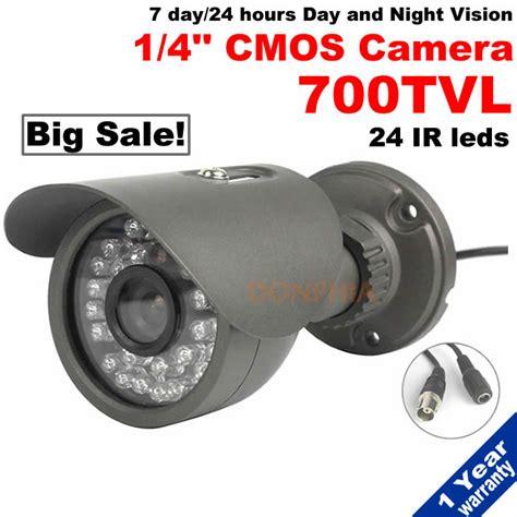 Security Cameras Outdoor 7 Day Outdoor Waterproof 700tvl Cctv 1 4 Quot Cmos Sensor