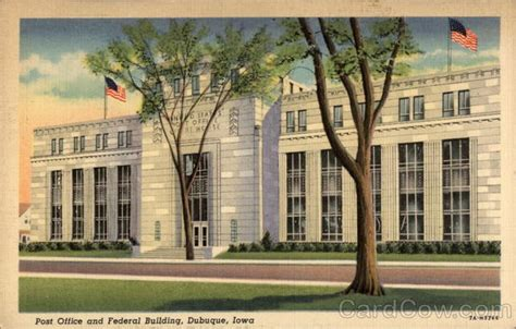 post office and federal building dubuque ia