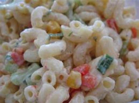 pasta salad recipe mayo pasta salad recipe just a pinch recipes