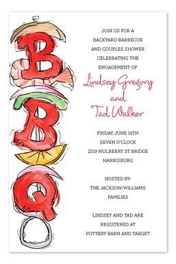 Delish Skewer   Party Invitations by Invitation