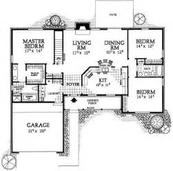 Easy To Build Floor Plans Simple Ranch House Plans Smalltowndjs Com