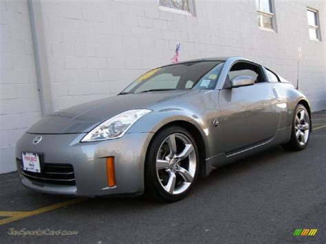 nissan coupe 2006 2006 nissan 350z touring coupe in silverstone metallic