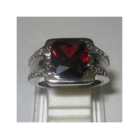 Cincin Garnet cincin pria gold filled model garnet cz ring 9us harga promo