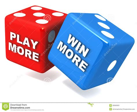 Win Money Fast Free - play more win more stock photo image 28582820