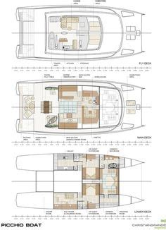 catamaran layout plans 3 cabin catamaran layout i want this kinda boat