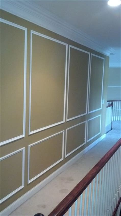 Shadow Box Wainscoting by Architectural Shadow Box Wainscoting Traditional New