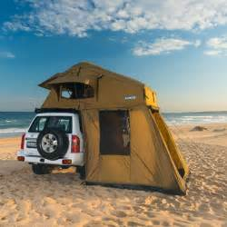 Diy Camper Awning Adventure Kings Roof Top Tent With Annexe 4wd