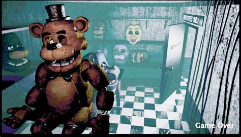 freddys game over nights at five backstage the fnaf fanon wiki fandom powered by wikia