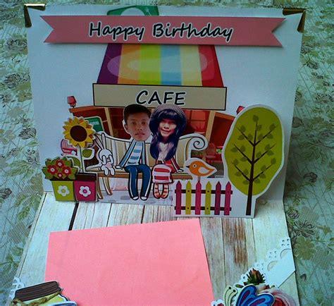 Kartu Ucapan Handmade Ala Scrapbook Card 2 jasa pembuatan popup jogja oriscrapcorner
