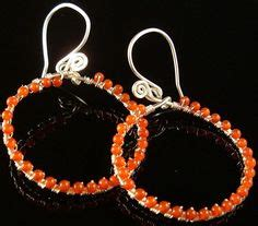 Orange Wire Jewelry Kalung festival jewellery renaissance and festivals on