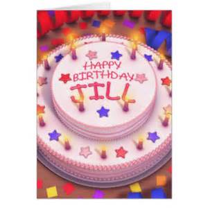 happy birthday jill gifts on zazzle