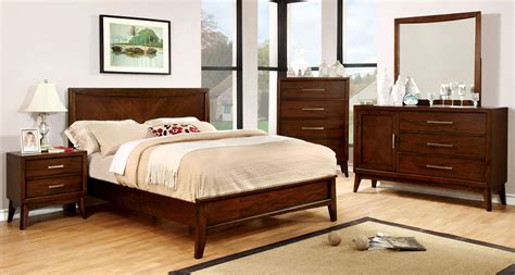 a america bedroom furniture snyder brown cherry panel bedroom set from furniture of