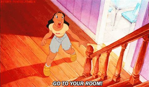 lilo go to your room nani gif nani discover gifs