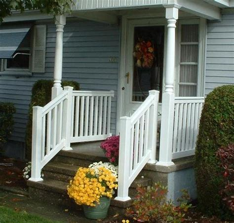Metal Stair Rails And Banisters Stairs Awesome Outside Step Railings Outdoor Stair
