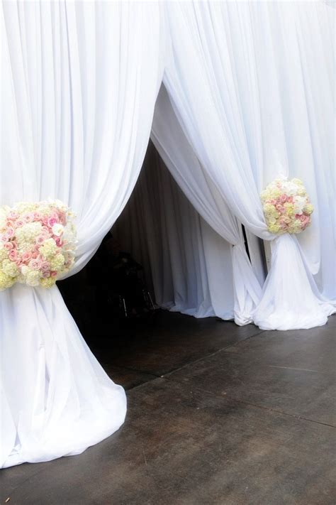 wedding decorations fabric draping 25 best ideas about wedding draping on pinterest