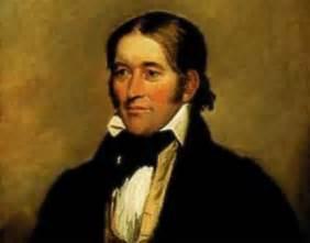 Davy crockett the alamo painting
