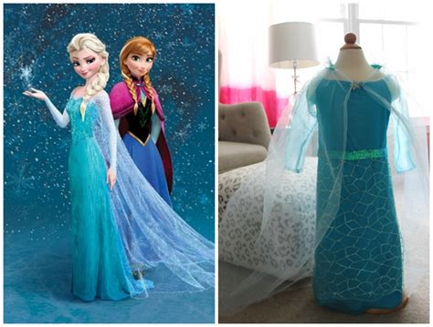 Frozen Elsa Silk Pink Dress diy elsa dress from disney s frozen
