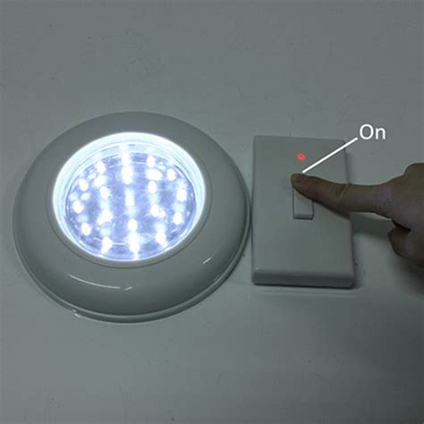 battery powered led light switch marvellous battery operated closet lights with remote