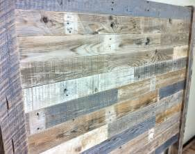 reclaimed wood headboard barn wood pallet furniture
