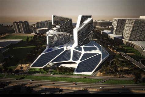 futuristic architecture futuristic architecture vertical in dubai uae