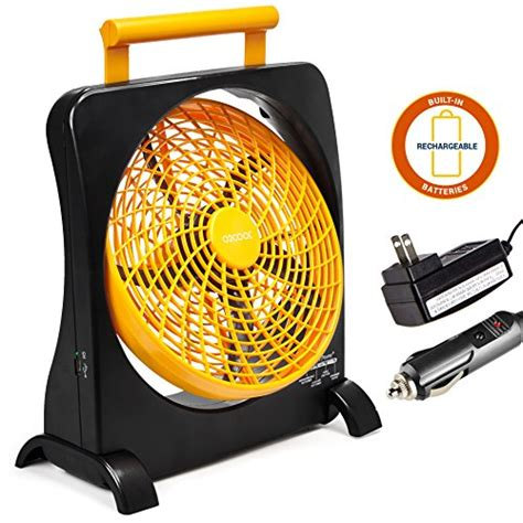 o2cool 10 portable fan o2cool 10 battery operated fan portable with ac adapter