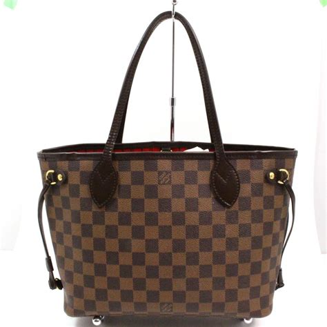 authentic louis vuitton damier ebene neverfull pm hand