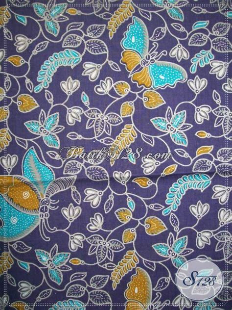 Kain Batik Garutan Warna Biru kain batik trendy warna biru keunguan batik cantik dan menarik kp646 toko batik 2018