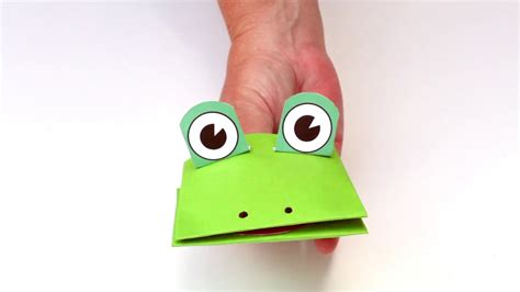 frog finger puppet template frog finger puppet template images template design ideas