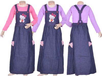 desain gamis anak terbaru desain baju gamis jeans anak terbaru sentra obral baju