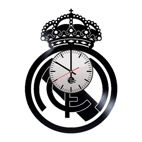 Real Search Real Madrid Handmade Vinyl Record Wall Clock Fan Gift Vinyl Clocks